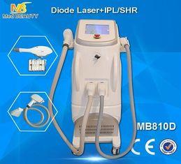 China Retiro sin dolor del pelo del laser del diodo, máquina permanente del retiro del pelo de 808nm IPL SHR proveedor