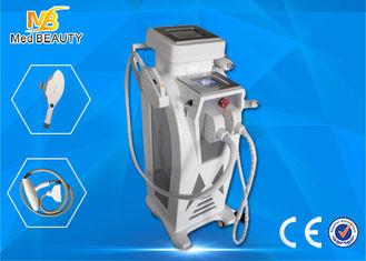 China Económico IPL + Elight + RF + máquina ligera pulsada intensa del laser de Yag IPL RF proveedor