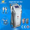 China Equipo seguro de la belleza del ABS IPL, máquina permanente del retiro del pelo de Elight SHR fábrica