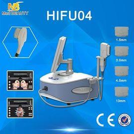 China El balneario de la clínica del salón de la máquina del ordenador portátil HIFU de la belleza trabaja a máquina 2500W 4 J/Cm2 distribuidor