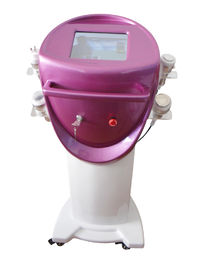 China Cavitación ultrasónica + máquina tripolar monopolar de la belleza de RF+ RF + Liposuction del vacío distribuidor